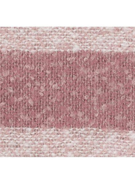 plaid 130 x 150 cm - lichtroze - 7390012 - HEMA