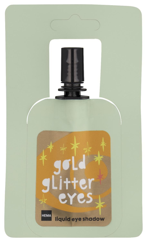 HEMA Vloeibare Oogschaduw Golden Glitter 3 Gram