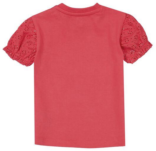 baby t-shirt regenboog roze roze - 1000024078 - HEMA