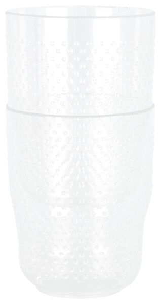 limonadeglazen 250 ml - kunststof - 2 stuks - 41810148 - HEMA
