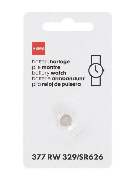 Horlogebatterij 377 / RW329 / SR626