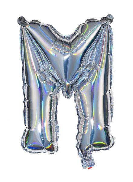 folieballon M - zilver - 14200215 - HEMA