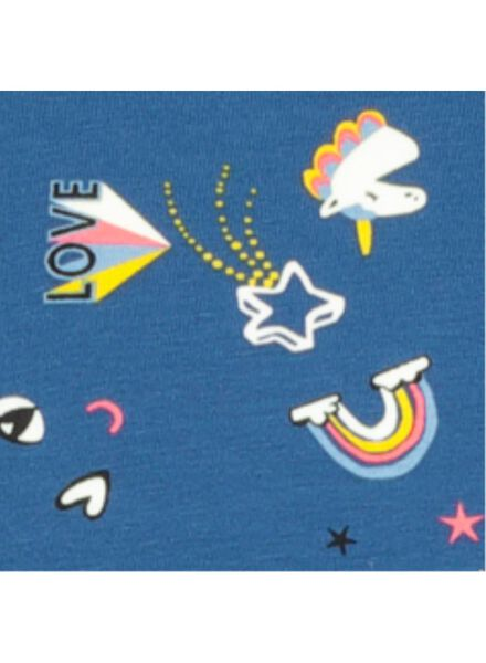 kinderpyjama blauw 158/164 - 23090836 - HEMA