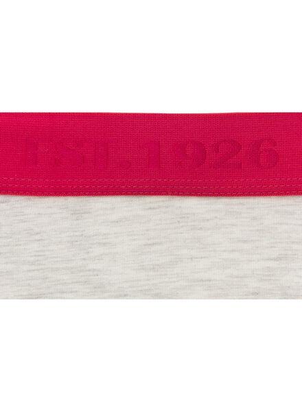 damesboxer grijsmelange S - 21380032 - HEMA