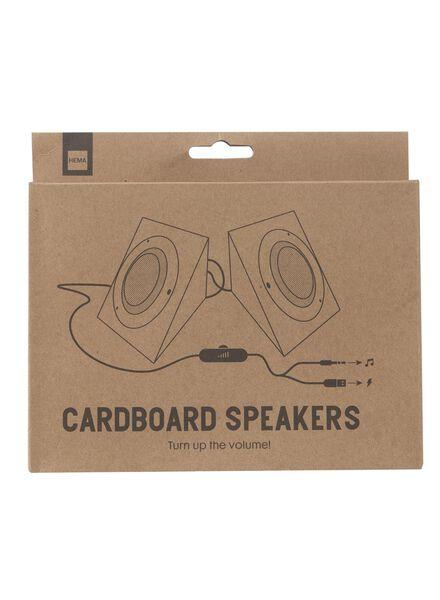 kartonnen speakers - 60300493 - HEMA