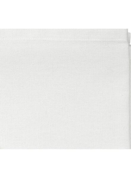 tafellaken - 140 x 240 - katoen - wit - 5300001 - HEMA