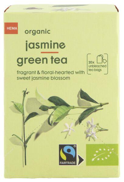 thee bio jasmijn groene thee 20 stuks - 17190003 - HEMA