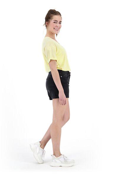 dames t-shirt geel geel - 1000019812 - HEMA