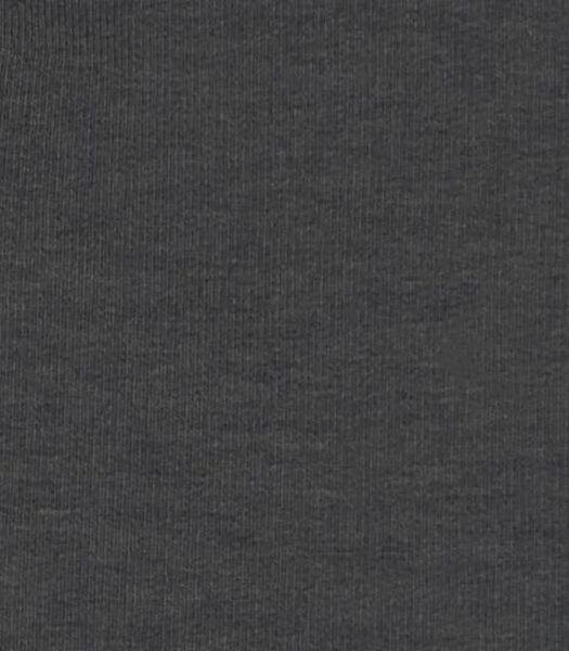 newborn sweatbroek met bamboe donkergrijs 68 - 33433835 - HEMA