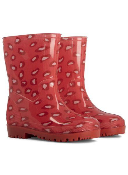 baby regenlaarzen roze roze - 1000014457 - HEMA