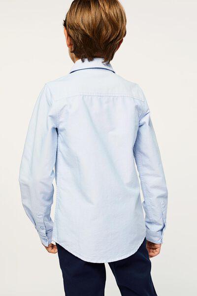 kinderoverhemd lichtblauw lichtblauw - 1000022434 - HEMA
