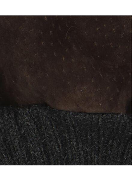 herenhandschoenen suède bruin bruin - 1000015327 - HEMA