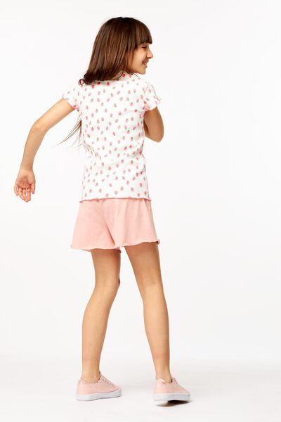 kinder t-shirt rib gebroken wit gebroken wit - 1000023673 - HEMA