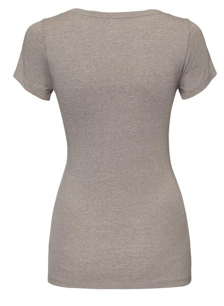dames t-shirt beige beige - 1000005144 - HEMA
