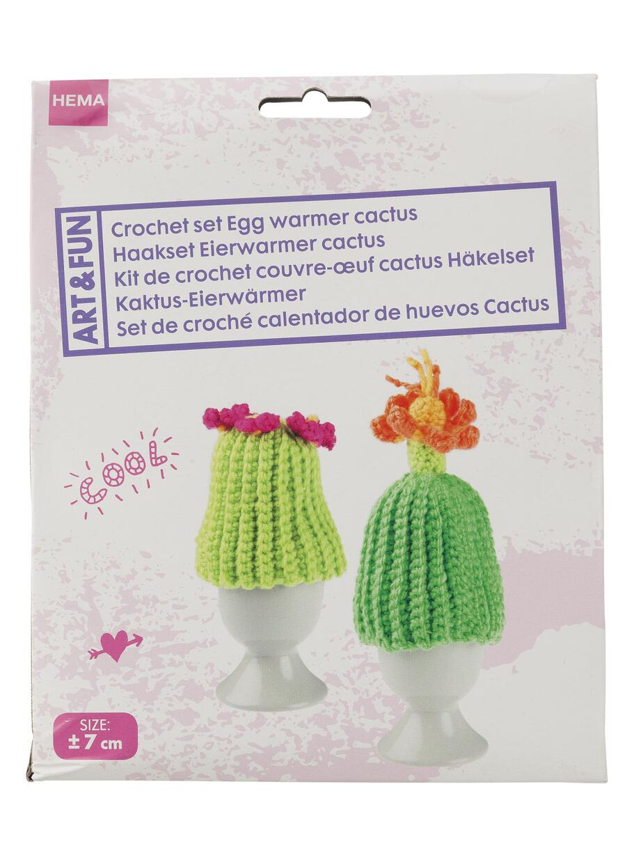 Haakpakket Eierwarmer Cactus Hema