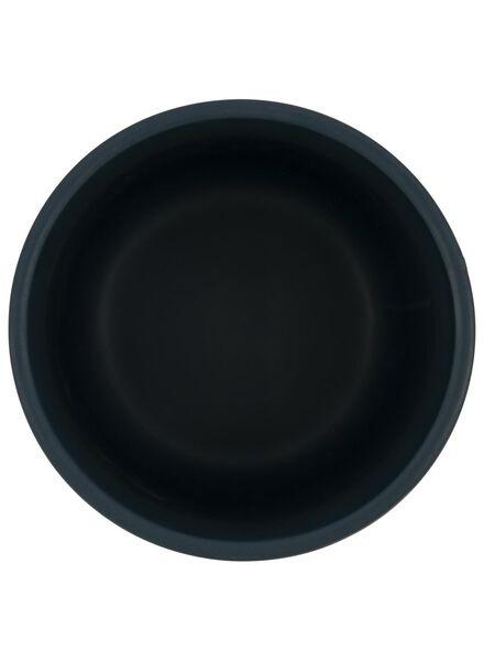 bloempot - 16,5 x Ø 13 cm - groen keramiek - 13392072 - HEMA