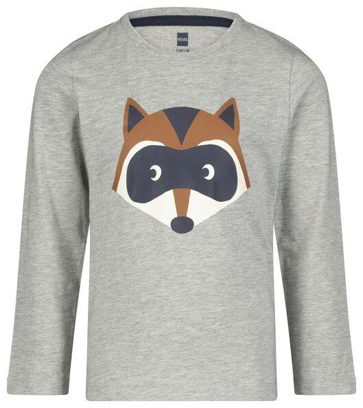 kinderpyjama wasbeer bruin 98/104 - 23050202 - HEMA