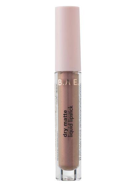 B.A.E. matte vloeibare lippenstift 08 lip sanity - 17710048 - HEMA