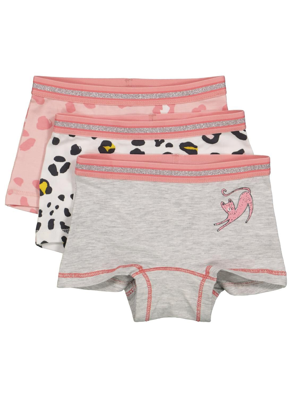 HEMA 3-pak Kinderboxers Roze (roze)
