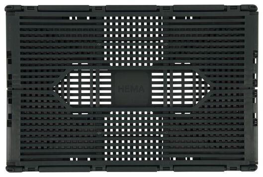 klapkrat letterbord recycled 20x30x11.5 donkergroen donkergroen 20 x 30 x 11,5 - 39821070 - HEMA