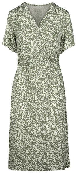 damesjurk olijf olijf - 1000019434 - HEMA