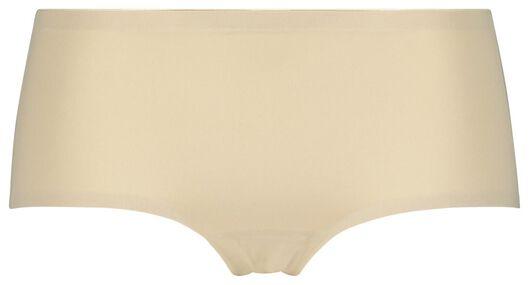 damesboxer naadloos micro beige beige - 1000019881 - HEMA