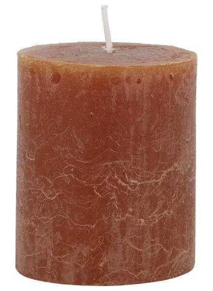 rustieke kaars lichtbruin lichtbruin - 1000017043 - HEMA