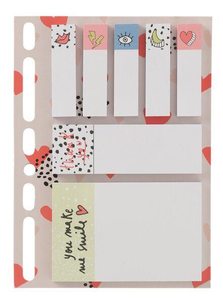 7-pak sticky notes - 14160105 - HEMA