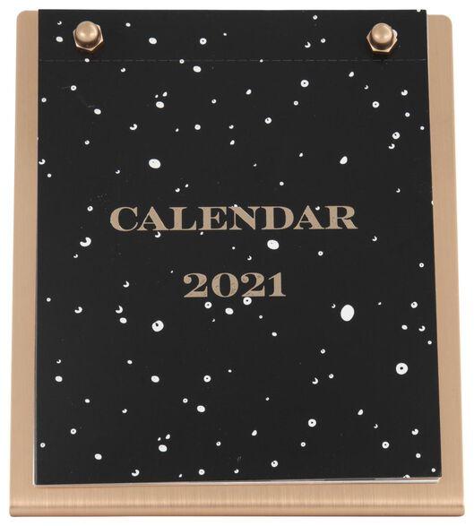 bureaukalender 2021 - 14x12.5x6.3 - 14126692 - HEMA