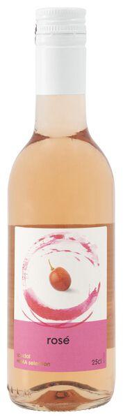 huiswijn rosé - 0,25 L - 17380519 - HEMA