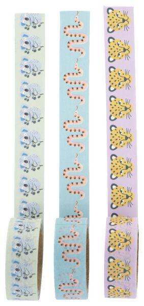 washi tapes - 3 stuks - 14502118 - HEMA