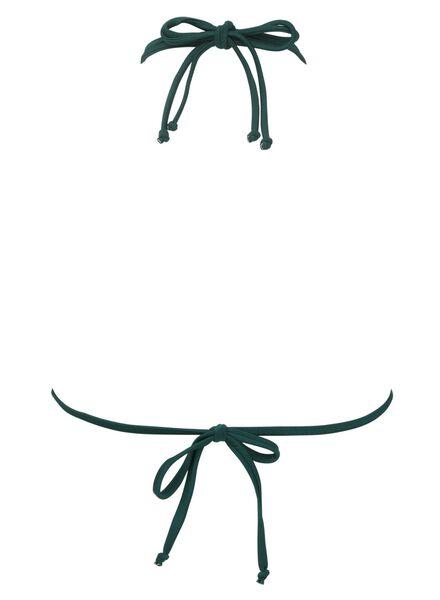 dames driehoek bikinitop groen groen - 1000011897 - HEMA