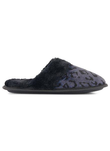 damessloffen zwart zwart - 1000016823 - HEMA