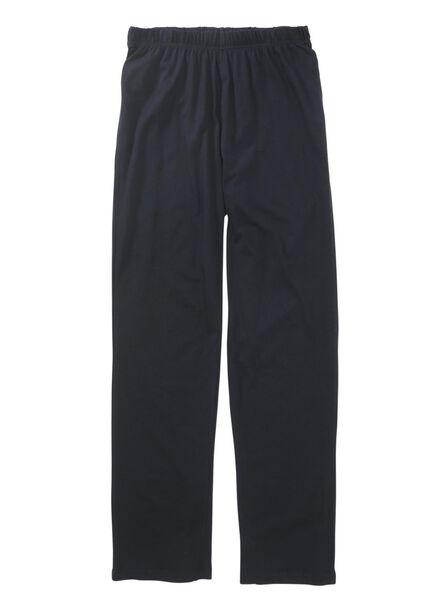 herenpyjama donkerblauw donkerblauw - 1000012583 - HEMA