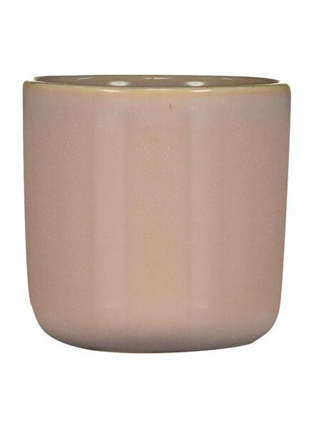 bloempot Ø 6 cm - reactief glazuur - roze - 13391059 - HEMA