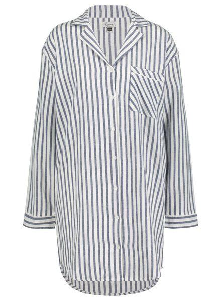 dames nachthemd blauw blauw - 1000015495 - HEMA