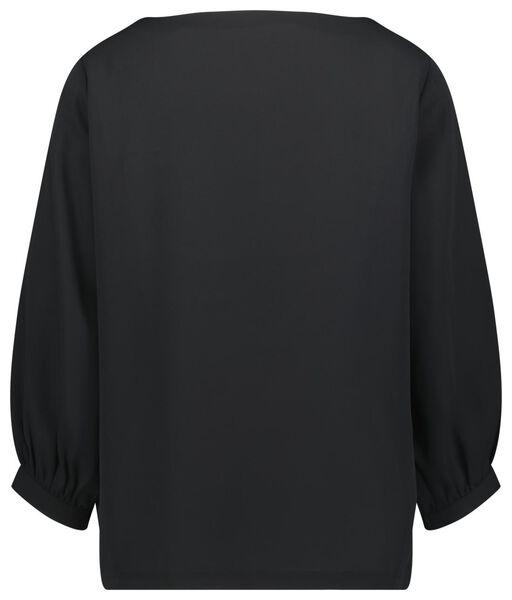 dames top zwart M - 36238352 - HEMA