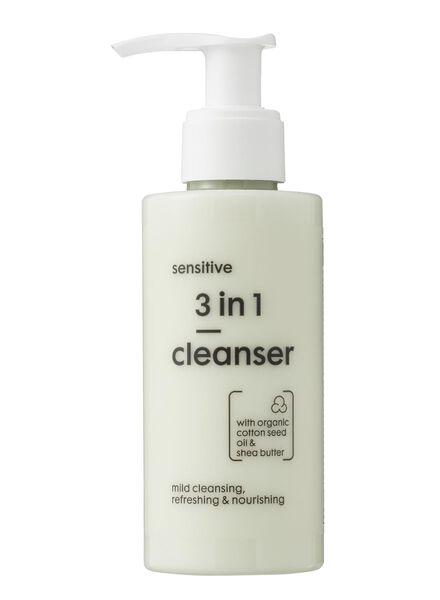3 in 1 reinigende lotion sensitive - 17870023 - HEMA