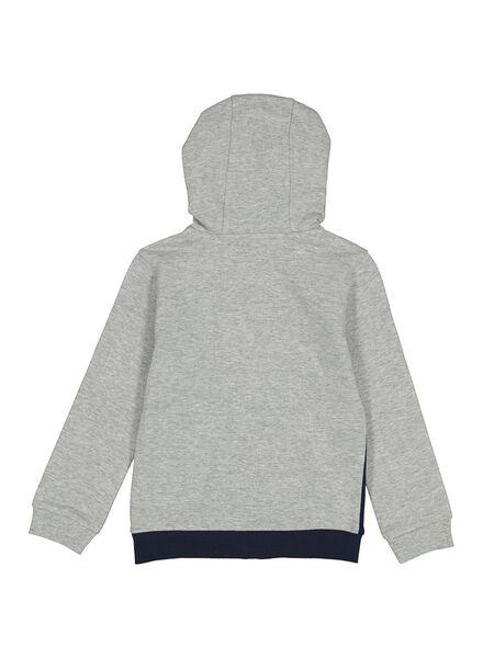 kinder sweatvest grijsmelange grijsmelange - 1000013748 - HEMA