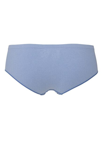 dameshipster naadloos lichtblauw lichtblauw - 1000008026 - HEMA