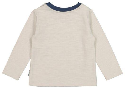 newborn setje t-shirt en broek - katoen donkerblauw donkerblauw - 1000020981 - HEMA