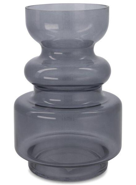 vaas - 24 x Ø 16 cm - grijs transparant - 13392028 - HEMA
