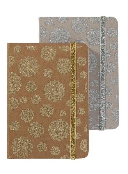2-pak A6 notitieboekjes - 14101253 - HEMA