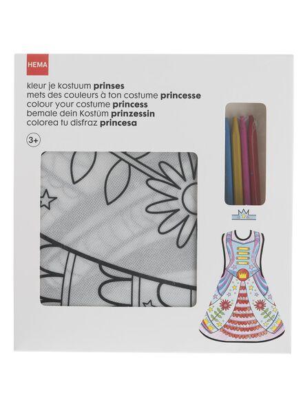 inkleurkostuum prinses - 15910085 - HEMA