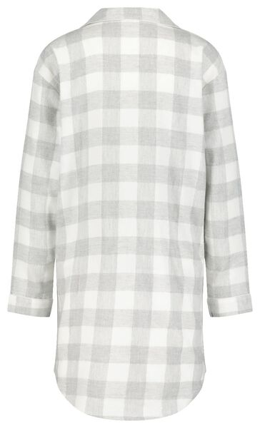 dames nachthemd grijs grijs - 1000020265 - HEMA