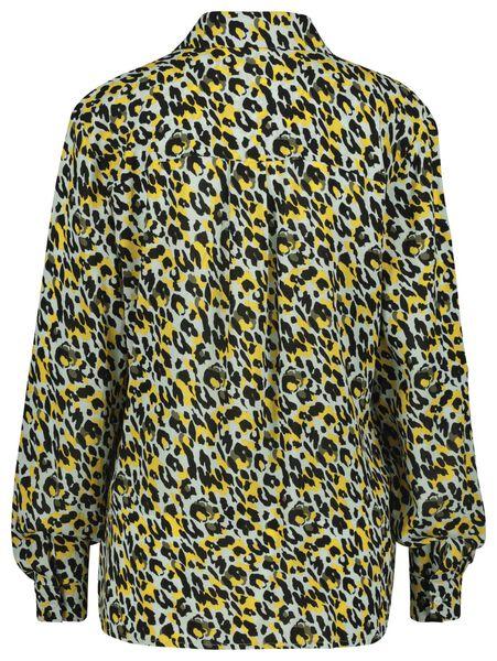 damesblouse lichtblauw XL - 36298079 - HEMA