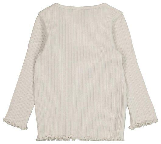 baby t-shirt rib zand zand - 1000021385 - HEMA