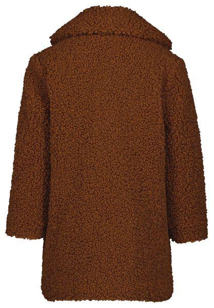 kinderjas teddy bruin 110/116 - 30851180 - HEMA