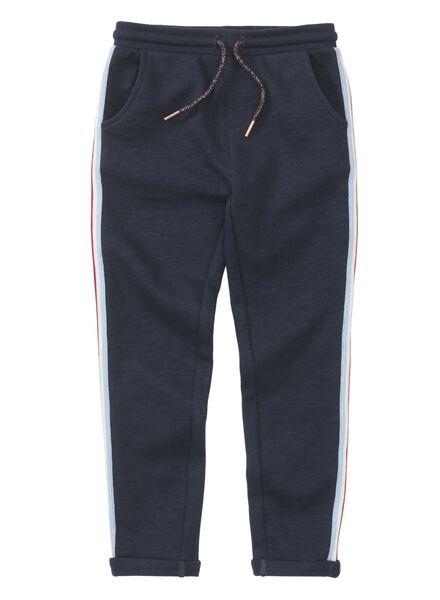 kinder sweatbroek donkerblauw donkerblauw - 1000013486 - HEMA