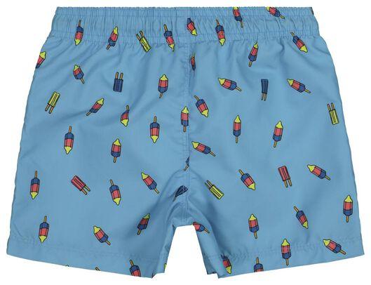 kinderzwemshort lichtblauw lichtblauw - 1000018226 - HEMA